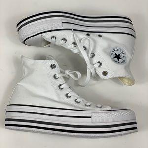 Converse Shoes - Converse Platform Black White Sneaker